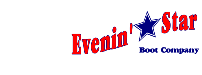 Evenin' Star Boot Company Logo
